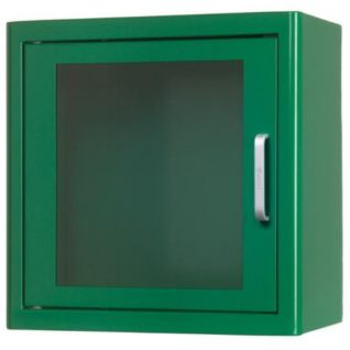 ARKY AED Wall Cabinet (Green) WITHOUT ALARM