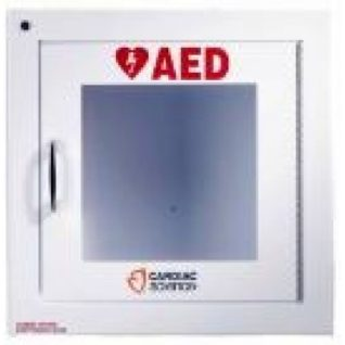 Cardiac Science surface mount Wall Cabinet with alarm (Security enabled)