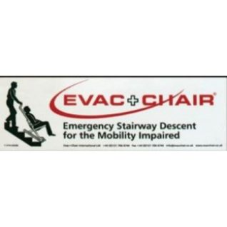 Evac Chair Photoluminescent Wall sign