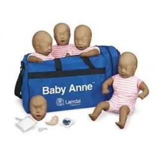 Laerdal Baby Anne 4 pack (dark skin) Manikin