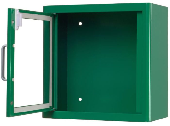 ARKY AED Wall Cabinet (Green) WITH ALARM