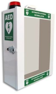 AERO AED Wall Cabinet with alarm and light