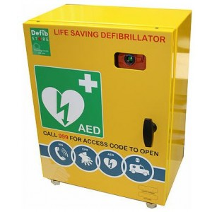 DEFIBSTORE 2000 AED Cabinet (Unlocked with electrics)