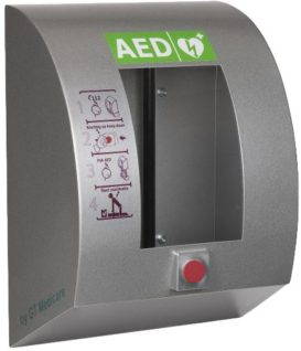 Sixcase AED cabinet SC1330 UNLOCKED