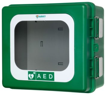 ARKY AED OUTDOOR Wall Cabinet WITH ALARM