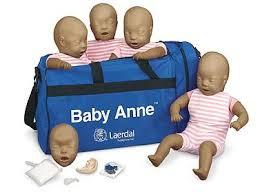 Laerdal Baby Anne 4 pack Manikins