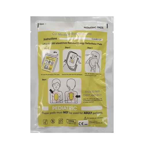 iPAD NF1200 paediatric electrode pads